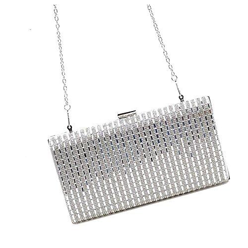 silver TOOKY pour Pochette TOOKY Pochette femme wXBxvqa