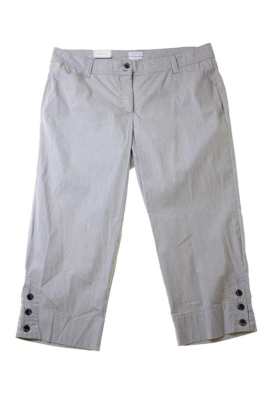 Charter Club Plus Size Cropped Straight-Leg Pants (20w)
