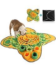 Petyoung Hondensnuffelmat Hondenvoermat voor honden, speelgoed voor huisdierenpuzzels Duurzaam interactief hondenspeelgoed stimuleert natuurlijke foerageervaardigheden