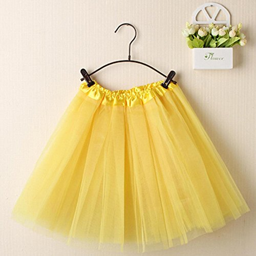 (Mini Skirt Shybuy Women Ballet Tutu Layered Organza Lace Tulle Skirt )