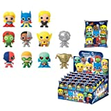 DC Comics 3-D Series 3 Figural Key Chain 6-Pack