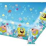 Spongebob Birthday Party Tableware 2015 Range Decoration Items (Plastic Table Cover (997777))