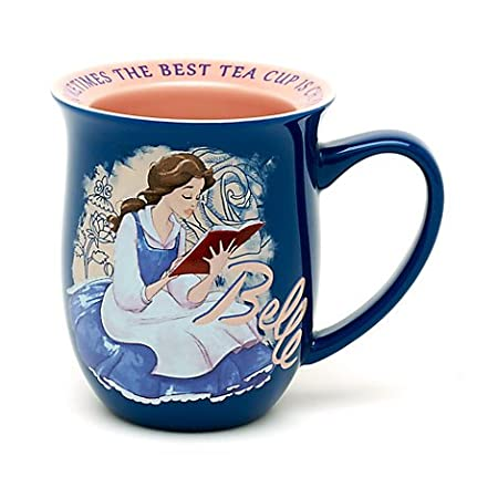 Beauty And The Beast Belle Quote Mug Official Disney Inscription On