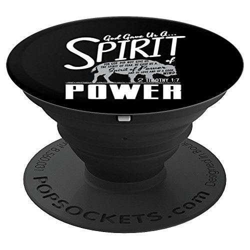 God Gave Us A Spirit Power Religious Faith Buffalo - PopSockets Grip and Stand for Phones and Tablets