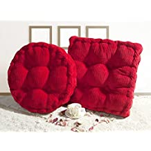 PinkyColor Multi-Size Square/Round Stuffed Chair Cushion Thicken LivebyCare Filled Seat Back Cushions Square PP Cotton Insert Filling Pad for Teen Boy Girl Kid Children Bedroom