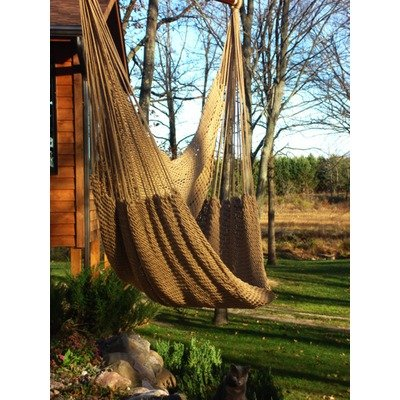 Phat Tommy Deluxe Hammock Chair Color: Desert Tan
