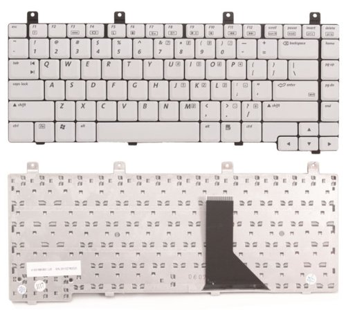 Eathtek New HP Compaq Laptop Keyboard Replacement for HP Compaq M, V, R, C, and 3 Series