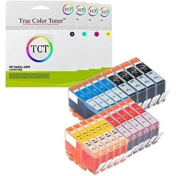 12 Pack for HP 564XL Black Cyan Magenta Yellow Ink Cartridge CN684WN-CN687WN
