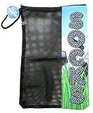 Bunk Junk Soccer Field Zipper Sock Bag