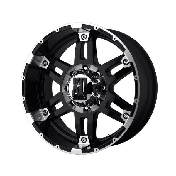 XD-Series-by-KMC-Wheels-XD797-Spy-Gloss-Black-Wheel-With-Machined-Face-17x95x127mm-12mm-offset
