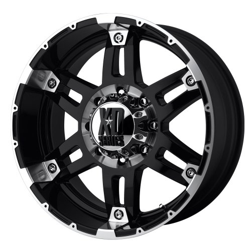 XD-Series Spy XD797 Gloss Black Machined Wheel (17×8″/6×5.5″)