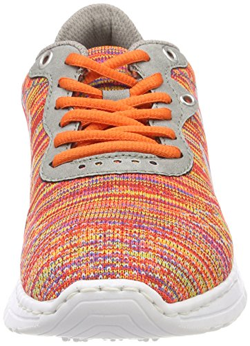 Multicolor Sneaker Damen Cement Mehrfarbig N5007 Rieker wRZIqR