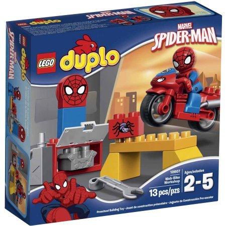 LEGO DUPLO Marvel Spider-Man Web-Bike Workshop Building Set 10607 WLM