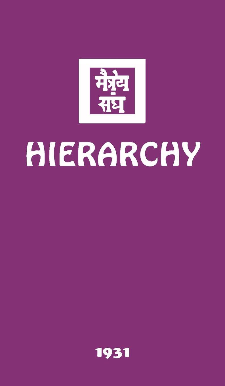 Hierarchy: Amazon.es: Agni Yoga Society: Libros en idiomas ...