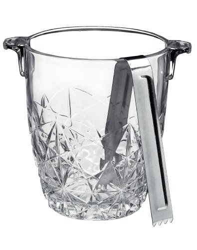 Bormioli-Rocco-Dedalo-Ice-Bucket-with-Tongs
