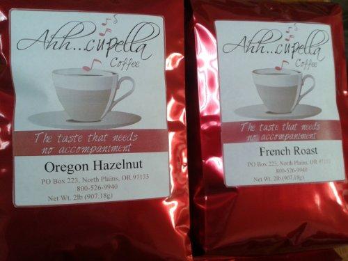 Ahh..Cupella Premium Gourmet Egg Nog Flavored K-CUP Ground Coffee, 32oz bag