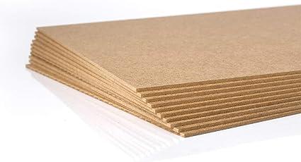 10 St/ück MDF Platte Holzzuschnitt in 34 X 96 cm 2,5 mm 340 X 960 mm