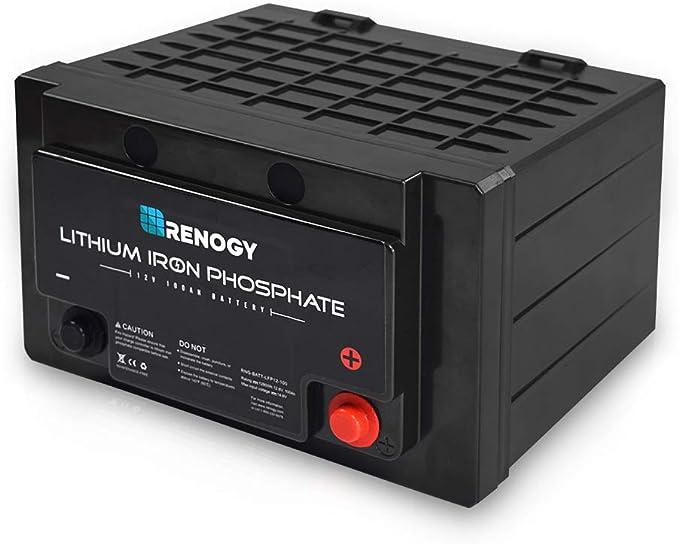 Renogy Lithium-Iron Phosphate Battery