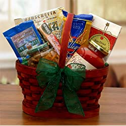 Mini Italian Dinner For Two Gourmet Gift Basket