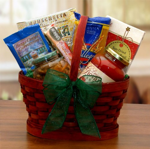 Mini Italian Dinner For Two Gourmet Gift Basket (Baskets Cooking Gift)