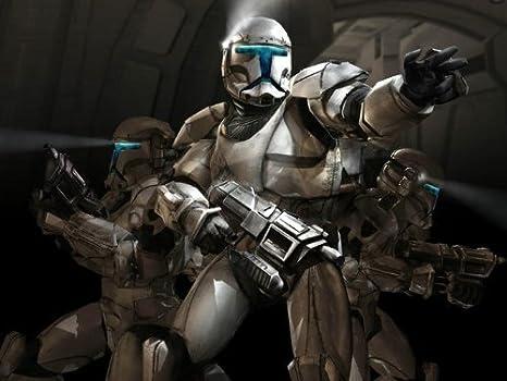 D7619 Star Wars Republic Commando Art Sci Fi 32x24 Print Poster