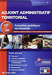 Adjoint administratif territorial Tout le concours 2013