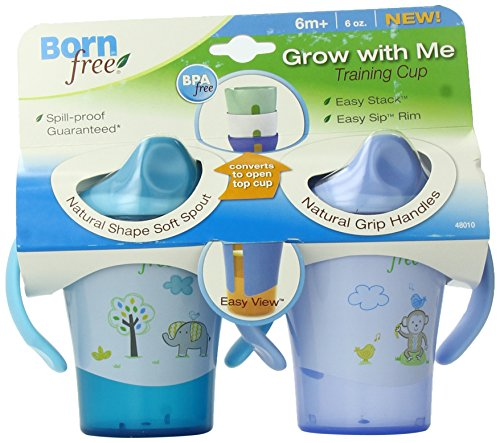(BPA-Free Grow with Me 6 oz. Training Cup, 2 Count )