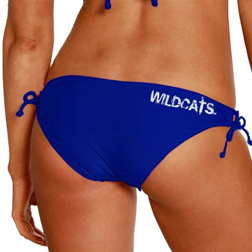 NCAA Kentucky Wildcats Ladies Spring Breaker Bikini Bottom - Royal Blue (Large) by Football Fanatics