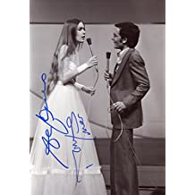 Italian pop duo AL BANO and ROMINA POWER autograph, In-Person signed photo