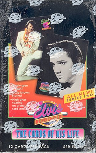The Elvis Collection Series Two 2 1993 River Group Card Box Of 36 Packs Presley