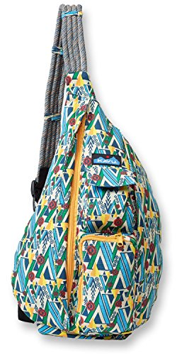 Bag Shoulder Woodland (KAVU Rope Bag, Woodland Art, One Size)
