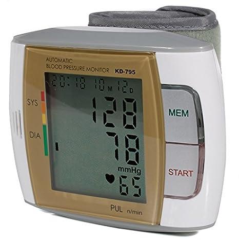 Quirumed 795 - Tensiómetro digital de muñeca, con voz: Amazon.es: Salud y cuidado personal