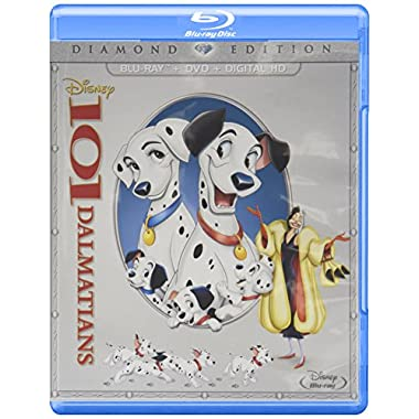 101 Dalmatians (Animated) [Blu-ray]