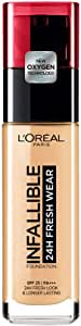 L'Oreal Paris Infallible 24hr Fresh Wear Liquid Foundation (# 120), 30ml