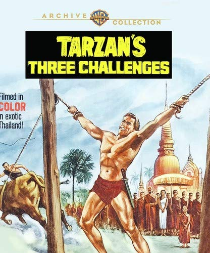 Tarzan's Three Challenges (1963) [Blu-ray]