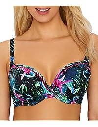Jungle Flower Deco Bikini Top