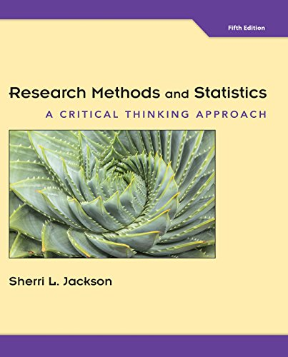 Research Methods and Statistics: A Critical Thinking Approach - http://medicalbooks.filipinodoctors.org