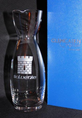 THE BALVENIE CASTLE SINGLE MALT SCOTCH WHISKY GLENCAIRN WATER CARAFE