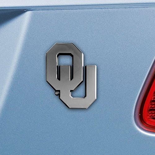 Oklahoma Sooners Thick Metal NCAA Auto Emblem