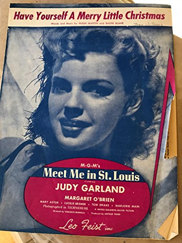Have Yourself A Merry Little Christmas (Meet Me In St. Louis) Sheet Music