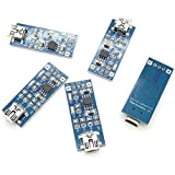 5 pcs TP4056 5V 1A Lithium Battery Charging Board Charger Module DIY Project