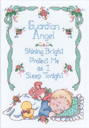 Dimensions Needlecrafts Counted Cross Stitch, Guardian Angel