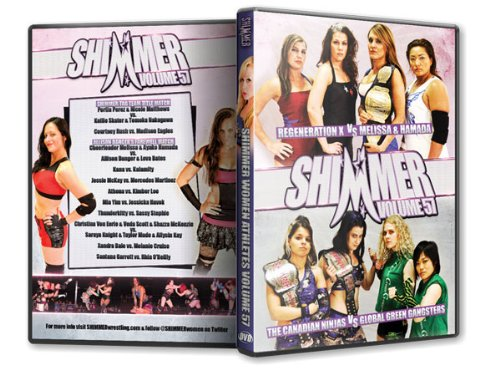 Shimmer Wrestling - Women Athletes Vol 57 ()