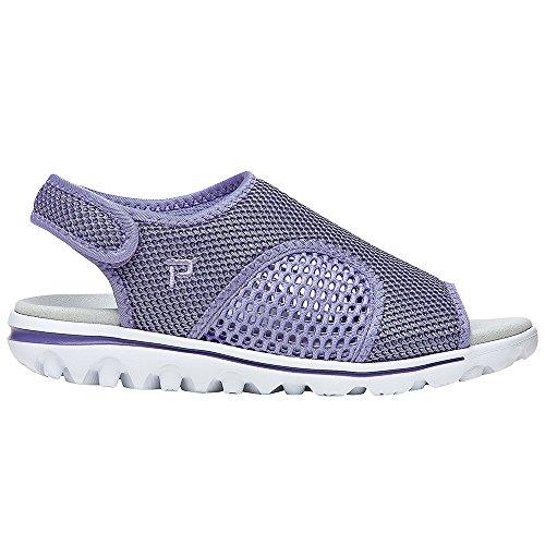 Ss Purple Women's Propet TravelActiv Black Sandal qSOxOwgEp4