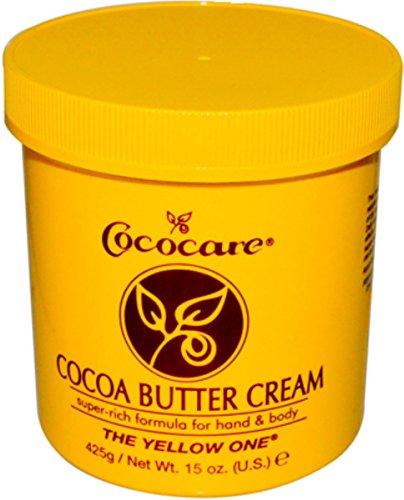 Cococare Cocoa Butter - Cococare Cocoa Butter Cream, 15 oz (Pack of 2)
