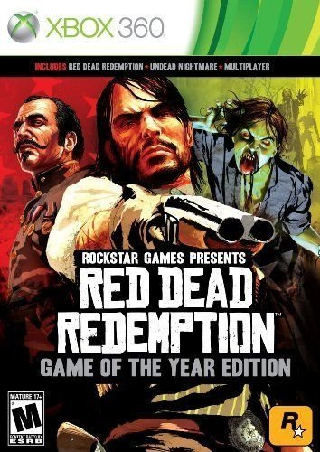 Red Dead Redemption: Game of the Year Edition - Xbox - Red Xbox 360 Console
