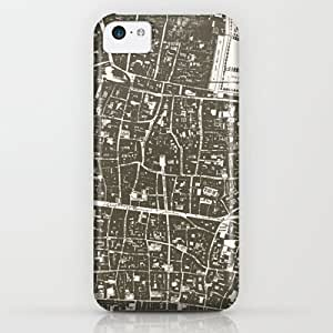 London Map iPhone & iphone 5c Case by Zeke Tucker