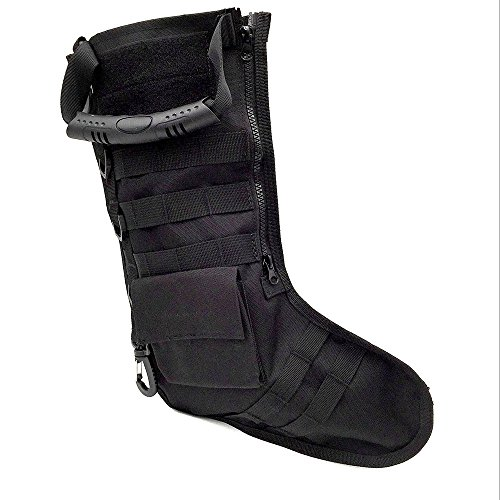 Tactical Christmas Sock Stockings,XY ZONE Multifunction Christmas Stockings Tactical Vest Storage Bags Holder Military Hook Molle Empty Sock Holiday Gifts