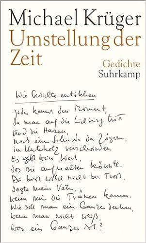 Umstellung Der Zeit Michael Krüger 9783518423943 Amazon