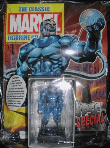The Classic Marvel Collection Giant SPECIAL Lead Figurine: Apocalypse / Eaglemoss - Sealed w/Collector's Magazine - SO VERY RARE!! - Lead Figurine Magazine